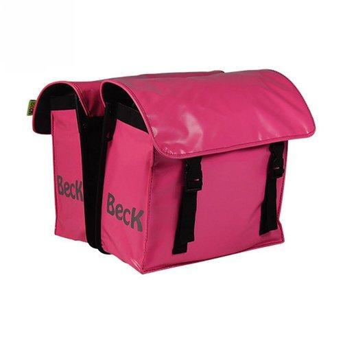 Beck Dubbele Kinder Fietstas Kids Pink