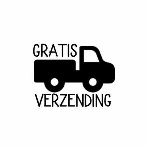 Beck Dubbele Fietstas Classic Zwart Grijze Flap
