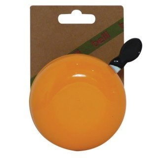 Fietsbel Ding Dong 80 mm fluo oranje