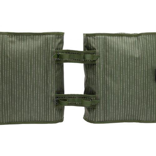 New Looxs Dubele  Fietstas/ Fietstas Fiori Double  Nomi Green