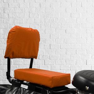 Flo en Zo Fietskussen en rugleuning pakket Oranje