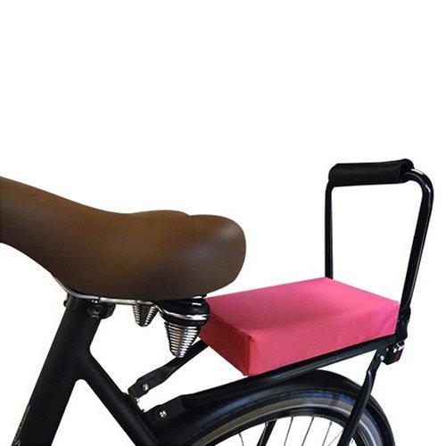 Flo en Zo Fietskussen Pakket Roze met rugleuning en voetsteuntjes