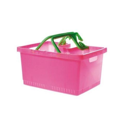 Kunststof Fietskrat Pink