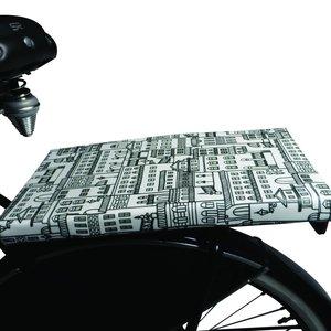 BikeCap Fietskussen  Amsterdam Black