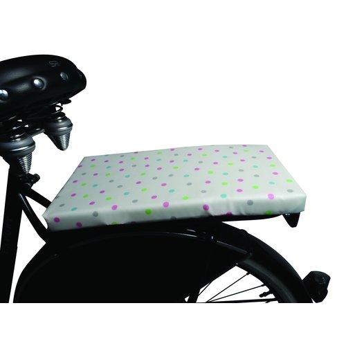 BikeCap Fietskussen Sweet Dotty Pinky