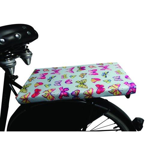 BikeCap Fietskussen Sweet Butterfly Blue