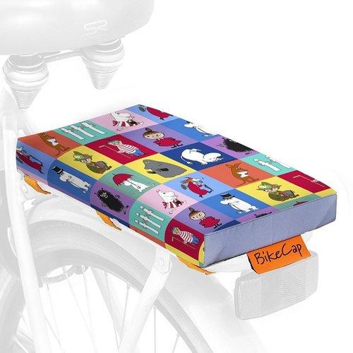BikeCap Fietskussen Moomin Checked