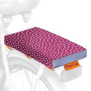 BikeCap Fietskussen Pink Dots