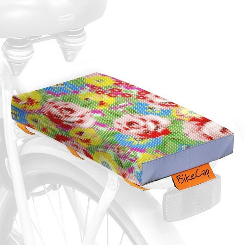 BikeCap Fietskussen Stitchy Flowers