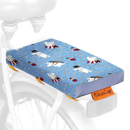 BikeCap Fietskussen Moonin Pretty Blue