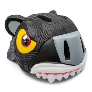 Crazy Safety Kinderhelm / Fietshelm Zwarte Panther S