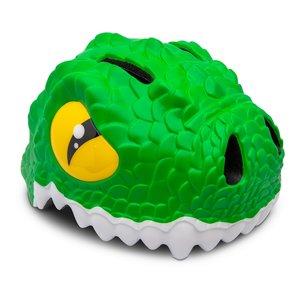 Crazy Safety Kinderhelm / Fietshelm Groene Krokodil S