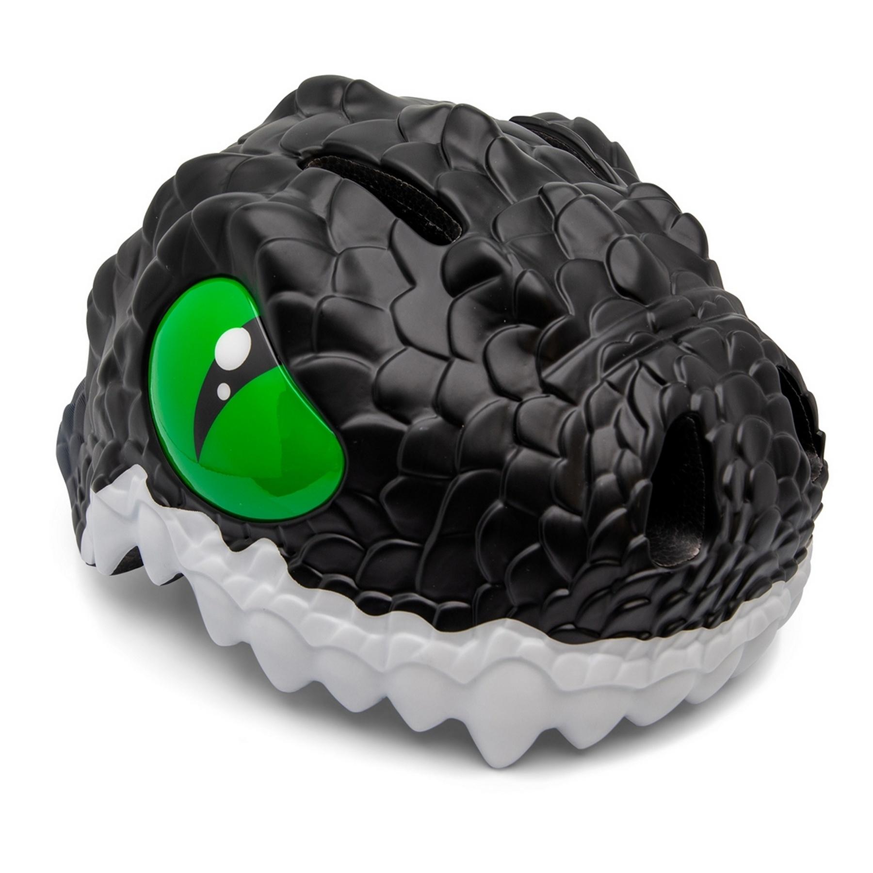 Kinderhelm - Fietshelm Zwarte Draak - Black Dragon Small 49-55 cm