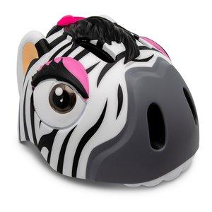 Crazy Safety Fietshelm Zebra