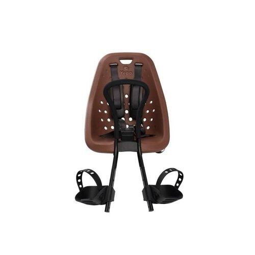 Thule Yepp Original Mini Voorzitje bruin Fietsstoeltje