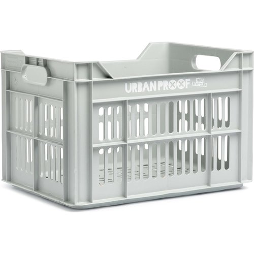 URBAN PROOF Fietskrat 30L Light Grey