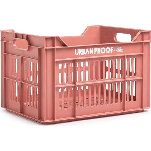 URBAN PROOF Fietskrat 30L Warm Pink