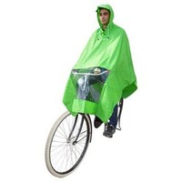 Poncho groen, koplampproof, one-size-fits-all