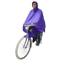 Poncho paars, koplampproof, one-size-fits-all