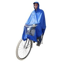 Poncho blauw, koplampproof, one-size-fits-all