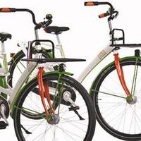 Ik heb een postcode loterij fiets, past hier achterop een fietsstoeltje op?
