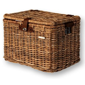 Basil Mand  riet denton basket L 45x32x32 nature brown