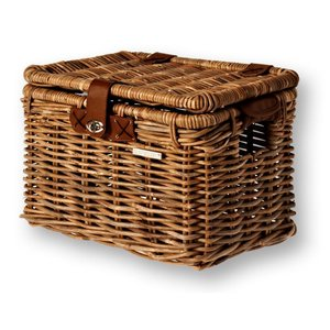 Basil Mand  riet denton basket M 35x26x26 nature brown