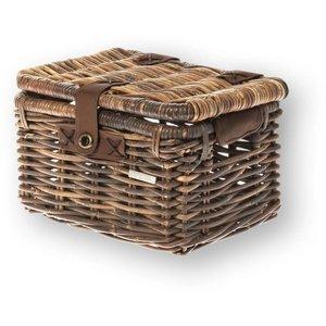 Basil Mand  riet denton basket S 35x24x22 nature brown