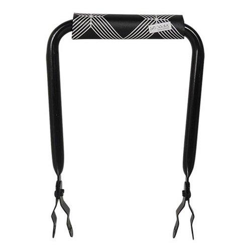 Hooodie Rugsteun zwart met Black Diamonds rugkussentje