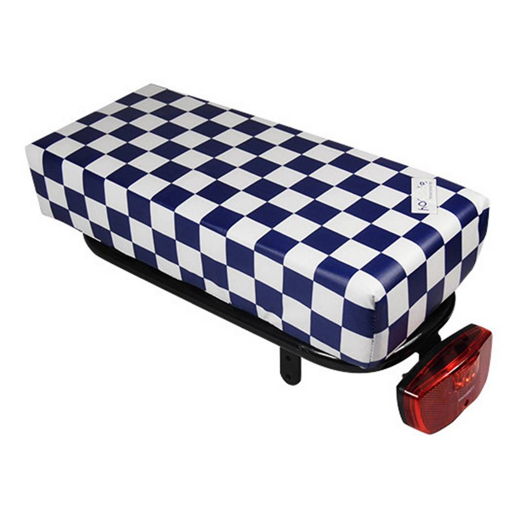Bagagedragerkussen BIG Cushie Navy Checker