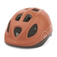 Kinderhelm One S Chocolate Brown