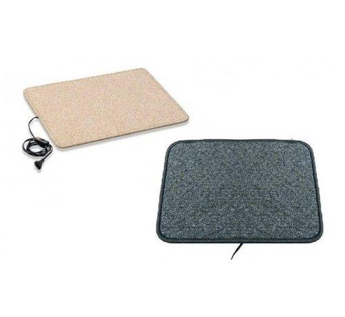 Infrarood warme voeten mat 50x90cm crème of antraciet 110Watt