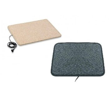Infrarood warme voeten mat 40x50cm crème of antraciet 70Watt