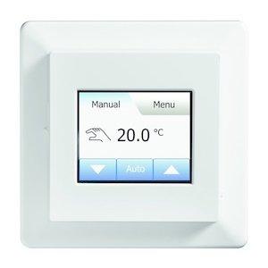 150 Watt elektrische vloerverwarming mat set inclusief Programmeerbare T16-FHL meertalige thermostaat