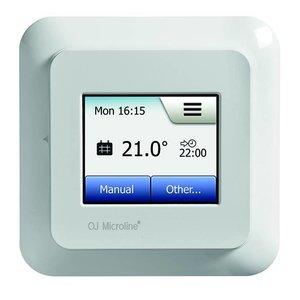 150 Watt elektrische vloerverwarming mat set inclusief Programmeerbare OCD5 meertalige thermostaat