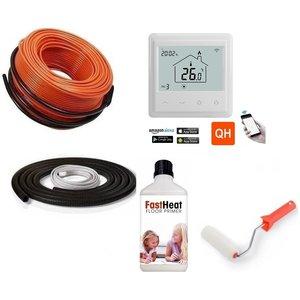 Quality Heating vloerverwarming kabel set