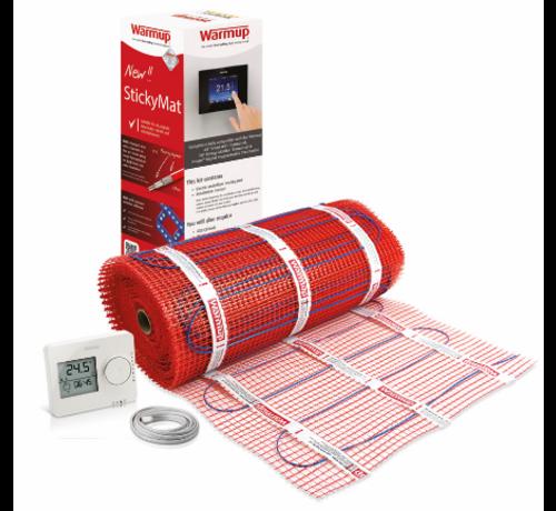 Warmup 150 Watt Stickymat set Tempo eenvoudig