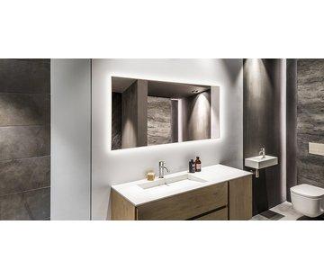 Spiegel infraroodverwarming met led verlichting 60 x 120 cm 700Watt
