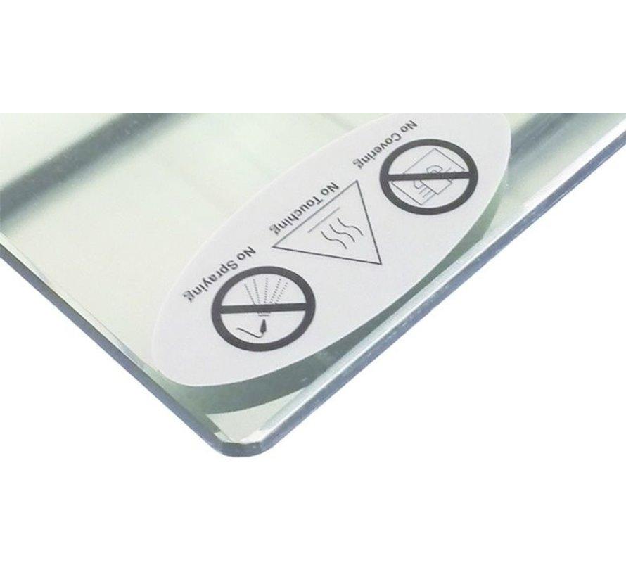 Spiegel infraroodverwarming 60 x 100 cm 580Watt