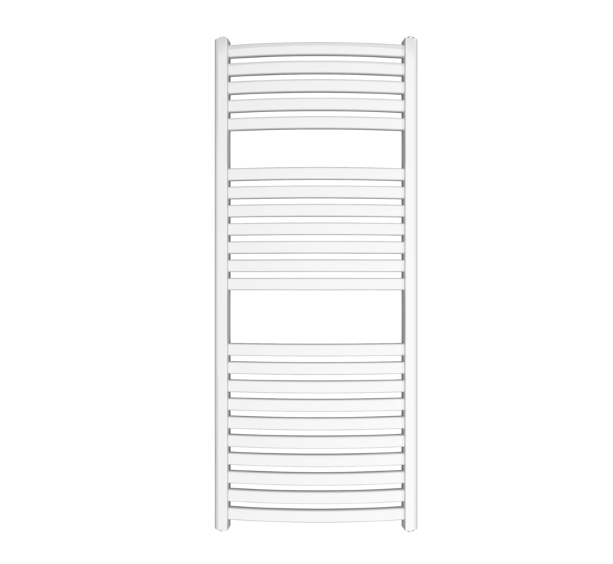 Wit en Chrome AF-SE elektrische handdoek radiator - Quality Heating