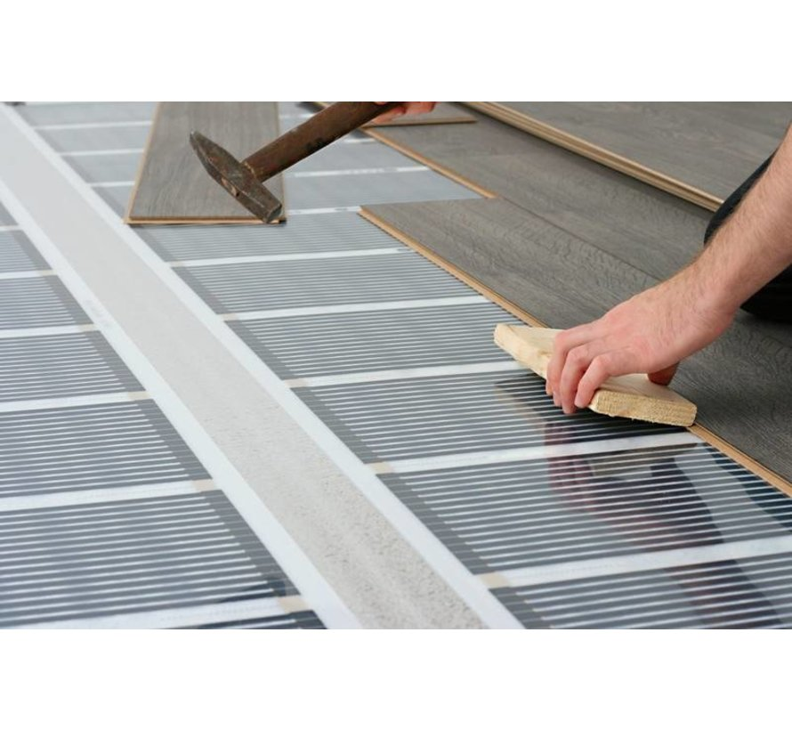 140Watt m² folie zonder thermostaat