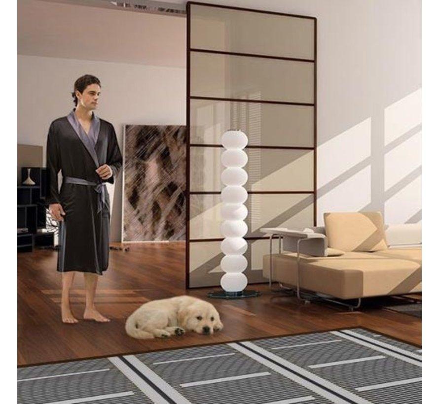 120Watt m² folie set Wifi Warmup 4IE wit of zwart