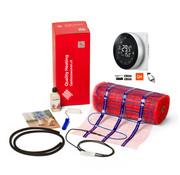 150 Watt mat set inclusief Programmeerbare Remote Control thermostaat