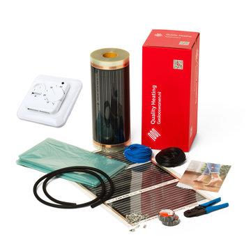 100Watt m² folie set eenvoudige manual QH-671