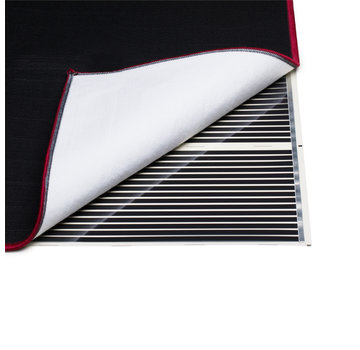Quality Heating karpetverwarming - vloerkleed - vermogen instelbaar