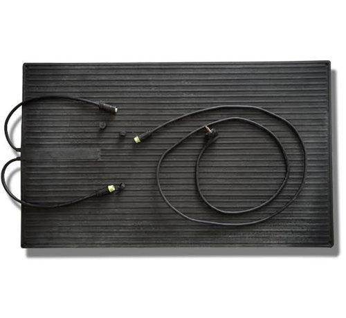 Koppelbare rubberen infrarood warmtemat - Waterbestendig