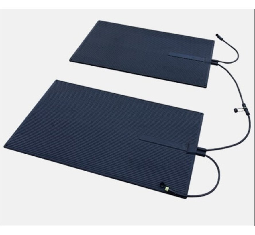 Koppelbare rubberen infrarood warmtemat - Waterbestendig  60 x 100 cm