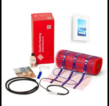 200 Watt mat set inclusief Warmup-6IE geavanceerde Wifi thermostaat