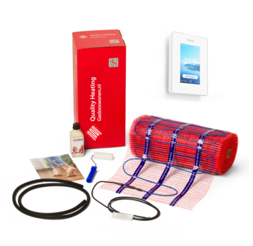 150 Watt mat set inclusief Warmup-6IE geavanceerde Wifi thermostaat