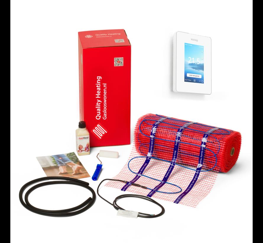 100 Watt mat set inclusief Warmup-6IE geavanceerde Wifi thermostaat